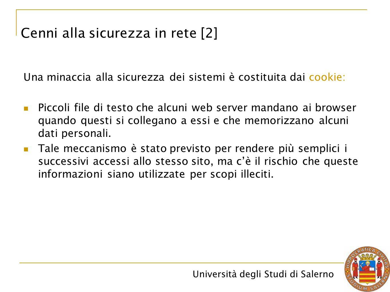 Cenni alla sicurezza in rete [2]
